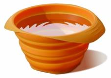 Kurgo Collaps A Bowl Orange Kurgo Collaps A Bowl Pet Travel Bowl Orange