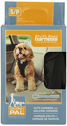 Kurgo Tru Fit Smart Harness Sm Kurgo Tru Fit Smart Dog Harness With Quick Release Buckles Small Black