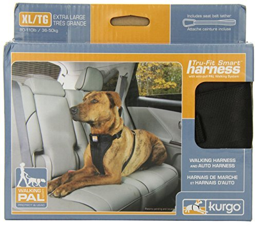 Kurgo Tru Fit Smart Harness Xl Kurgo Tru Fit Smart Dog Harness With Quick Release Buckles Extra Large Black