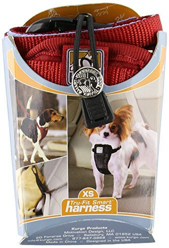 Kurgo Harness Tether Red Md Kurgo Tru Fit Enhanced Strength Harness 3055 Series Medium Red