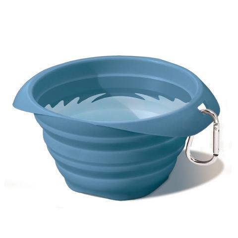 Kurgo Collaps A Bowl Blue Kurgo Collaps A Bowl Pet Travel Bowl Blue