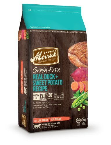 Merrick Grain Free 25lb Duck & Sweet Potato