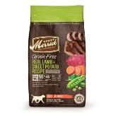 Merrick Grain Free Lamb & Sweet Potato Lid Adult Dog 25lb