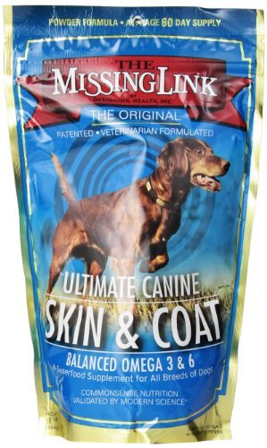 Missing Link D Skin Coat 1lb Missing Link Ultimate Skin & Coat Dog Supplement 1 Lb