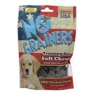 Yumzies No Grainers Ckn 5oz No Grainers Soft Chew Dog Treats Bbq Chicken 5 Ounce