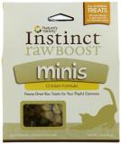 Nav Raw Boost Cat Chick 2.25oz Nature's Variety Raw Boost Mini Bites For Cats Instinct Chicken 2.25 Ounce