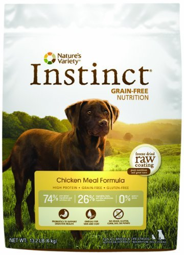 Nature's Variety Instinct Grain Free Chicken Meal 13.2lb