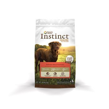 Nature's Variety Instinct Grain Free Salmon Meal Dog 4.4lb Qb 4