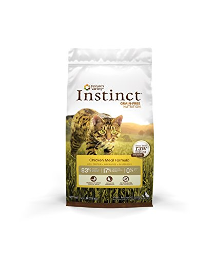 Nature's Variety Instinct Grain Free Chicken Cat 5.5lb Qb 4 Nav Cat Instinct Chicken 5.5lb