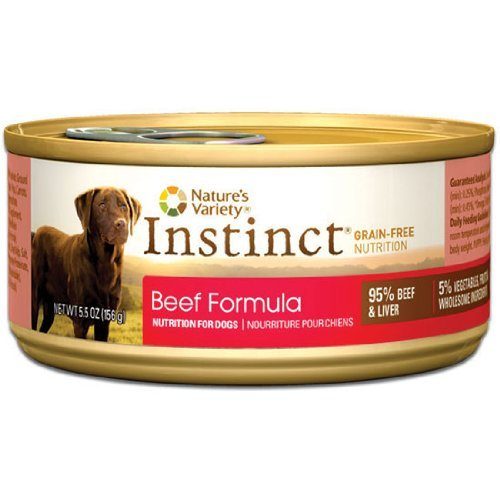 Nature's Variety Instinct Beef 5.5oz
