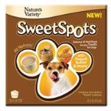 Nav Sweet Spots Peanut 4pk Nature's Variety 699851 4 Pack Sweet Spots Peanut Butter And Honey Frozen Treat For Pet