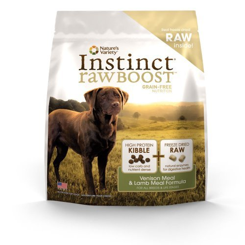 Natures Variety Instinct Raw Boost Grain Free Venison Meal & Lamb 12.3lb