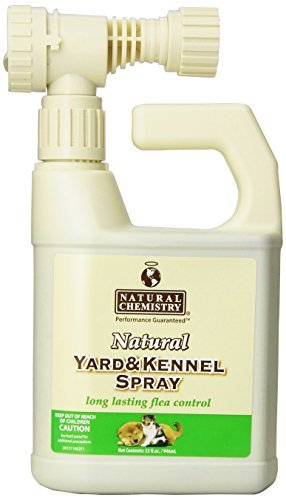 Nat Chem D Yrd Kennel Spry 32z Natural Yard And Kennel Flea & Tick Spray With Convenient Hose End Sprayer Hookup. 32oz Bottle Covers Up To 4 500 Sq Ft.