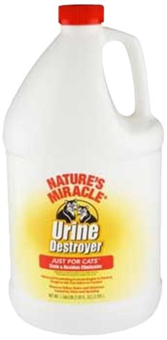 Nam Cats Urine Destroyer Gal Nature's Miracle Just For Cats Urine Destroyer 128oz (gallon)