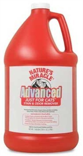 Spor Nam C Jfc Adv S O 1gallon Nature's Miracle Just For Cats Advanced Stain And Odor Formula 128oz (gallon)