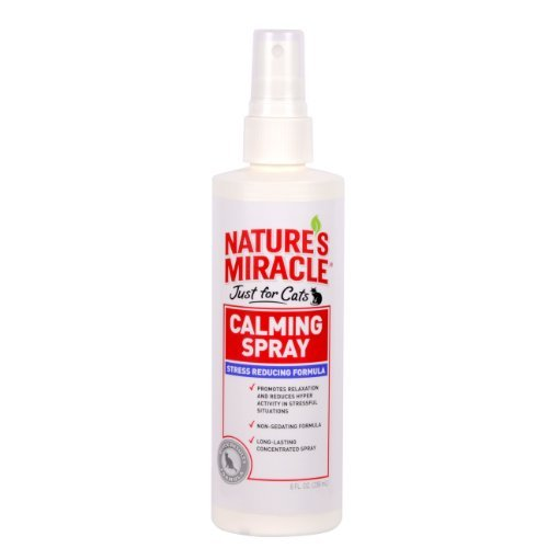 Nam No Stress C Spray 8oz Nature's Miracle Just For Cats No Stress Calming Spray 8 Ounce