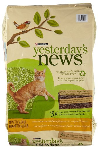Yesterday's News 30lb Yesterday's News Original Cat Litter Unscented