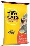 Tidy Cat Clay 24 7 Perform 20lb Tidy Cats Cat Box Filler Long Lasting Odor Control Formula For Multiple Cats 20 Lb