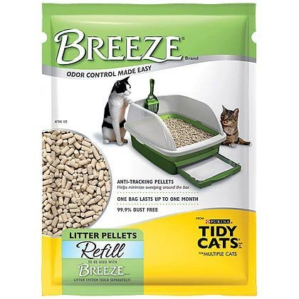 Tidy Cat Brz Litter 3.75lb Tidy Cat Breeze Cat Litter Pellets Refill 3.5 Lb