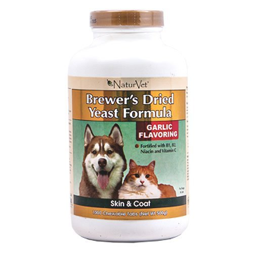 Spor Nav D Brw Yst Grlc 1000ct Naturvet Brewers Yeast And Garlic Pet Tabs 1000 Ct