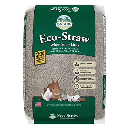 Spor Oxbo Eco Straw Bedding Oxbow Pet Products 448061 Eco Straw Small Animal Bedding For Pets 20 Pound