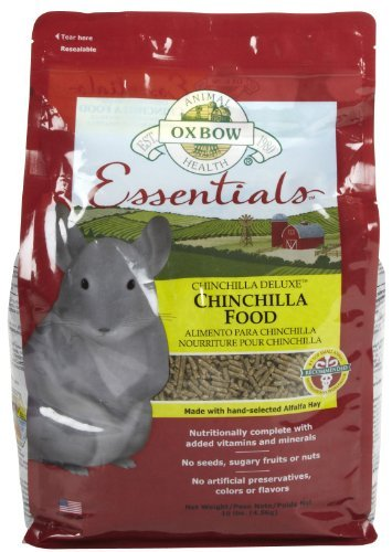 Su Oxbow S Chin 10lb Oxbow Animal Health Chinchilla Fortified Small Animal Feeds 10 Pound