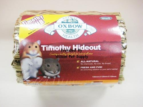 Oxbow Timothy Hideout Oxbow Pet Products 448008 Timothy Hideout For Pets