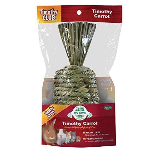 Oxbow Timothy Carrot Oxbow Pet Products 448009 Timothy Carrot For Pets