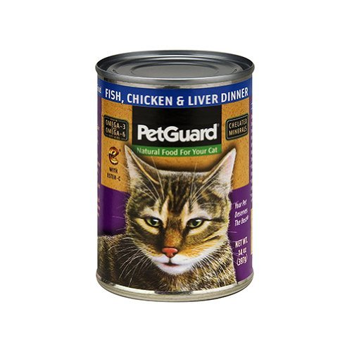 Petguard Cat Fish Chicken & Liver 14oz