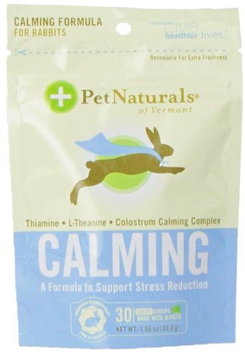 Pet Nat Rabbit Calming 30ct Pet Naturals Of Vermont Calming For Rabbits 30 Crisps