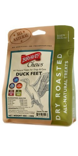 Spor Bravo Duck Feet Bravo Bonus Bites Dry Roasted Duck Feet 5 Ounce