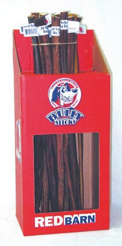 Red Barn Bully Sticks 24in Red Barn Natural Bully Sticks 24""