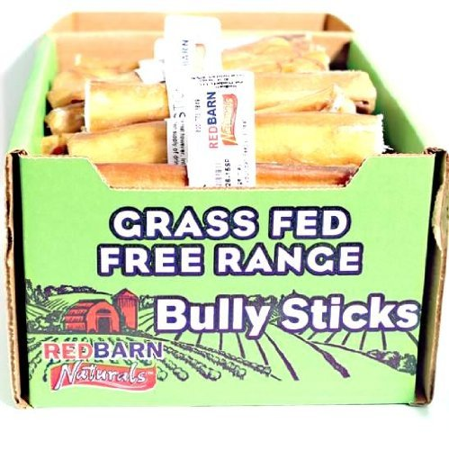 Red Barn Bull Stck 5in Redbarn Natural Dog Treat Bully Stick 5in (box Of 50)