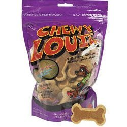 Red Barn Chewy Louie Pnut 14oz Redbarn Chewy Louie Filled Dog Biscuits Peanut Butter Flavor 14 Oz.