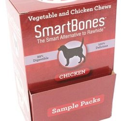 Smartbone Chicken Mini 30pcs Smartbones Chicken Sample 30pk Pdq