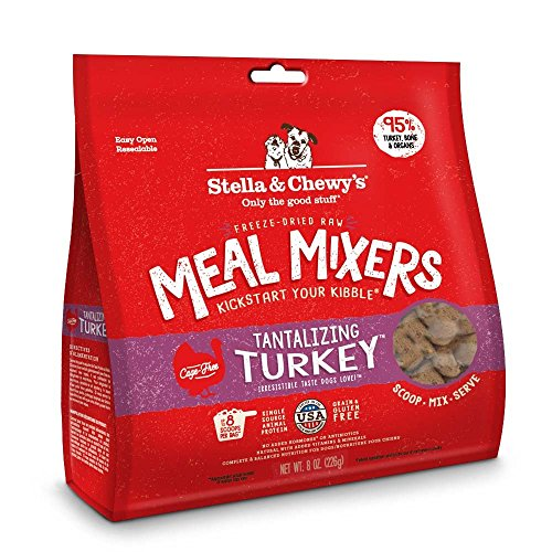 Stella And Chewy's Freeze Dried Turkey Mixers 9oz