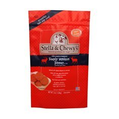 S&c Dog Venison Intro Pck 8.5z Stella & Chewy's Frozen Simply 8 Pack Venison For Pets 8.5 Ounce