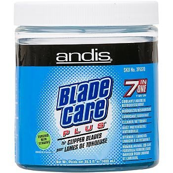 And Blade Care Jar Andis Company Equine Blade Care Plus For Clipper Blades 16.5 Oz