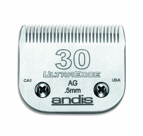 And Blade Size 30 Andis Ultraedge Chrome Finish Blade #30 Clipper Blade 64075