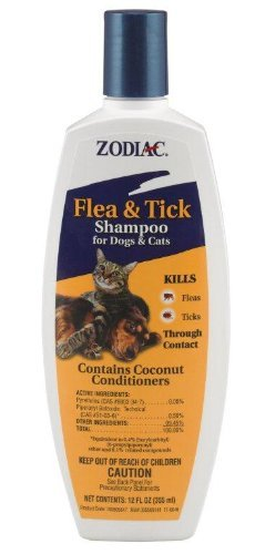 Zod Shampoo Flea&tick 12oz Zodiac Flea & Tick Shampoo For Dogs & Cats 12 Ounce