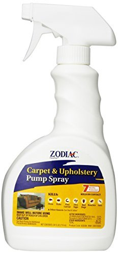 Zod Spray Carpt Upholst 24z Zodiac Carpet & Upholstery Pump Spray 24 Ounce