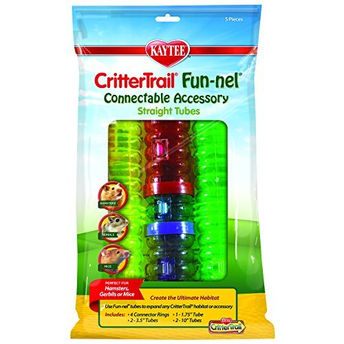 Zzspet Fun Nels Tubes Val Pack Kaytee Crittertrail Fun Nels Tubes Accessoris Value Pack