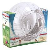 Spet Ball Run Aboutclear 7in Kaytee Run About 7 Inch Exercise Ball Clear