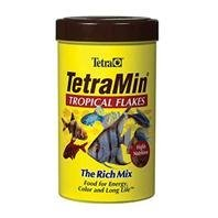 Tetra Min Trop Flakes 7.06oz Tetramin Tropical Flakes Fish Food 7.06 Oz Canister