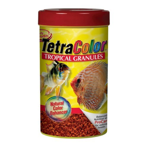 Tetra Color Trp Granules 1.06z Colorbits Tropical Granules