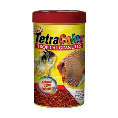 Tetra Color Trpcl Gran. 2.65oz Tetra 16159 Tetracolor Tropical Granules 2.65 Ounce 250 Ml