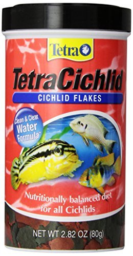 Tetra Cichlid Flakes 2.82oz Tetra 16246 Tetracichlid Flakes 2.82 Ounce 500 Ml