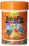 Tetra Fin Goldfish Food .42oz Tetra 77025 Tetrafin Goldfish Flakes 0.42 Ounce 85 Ml