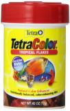 Tetra Color Trop Flakes .42z Tetra 77157 Tetracolor Tropical Flakes 0.42 Ounce 85 Ml