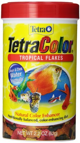Tetra Color Trpcl Flakes 2.2z Tetra 77161 Tetracolor Tropical Flakes 2.20 Ounce 375 Ml